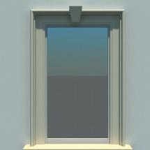 Ancadrament fereastra FP107 - Ancadramente usi si ferestre
