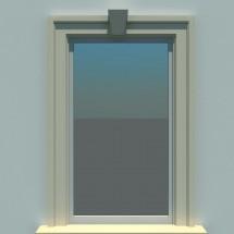 Ancadrament fereastra FP120 - Ancadramente usi si ferestre