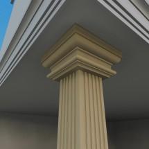 Pilastru decorativ FP704 - Pilastri decorativi
