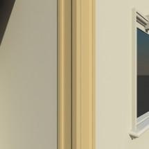 Pilastru decorativ FP501 - Pilastri decorativi