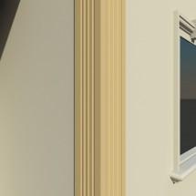 Pilastru decorativ FP502 - Pilastri decorativi