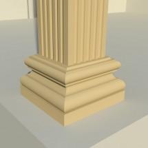 Pilastru decorativ FP602 - Pilastri decorativi