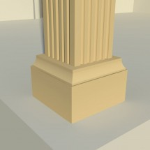Pilastru decorativ FP603 - Pilastri decorativi