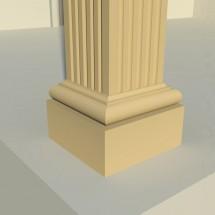 Pilastru decorativ FP604 - Pilastri decorativi