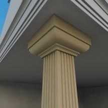Pilastru decorativ FP701 - Pilastri decorativi