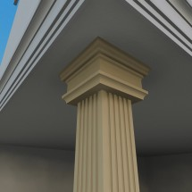 Pilastru decorativ FP702 - Pilastri decorativi