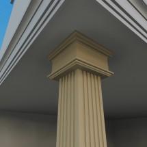 Pilastru decorativ FP703 - Pilastri decorativi