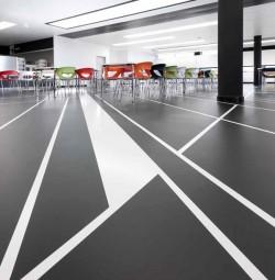 Pardoseala pe baza de elastomeri pentru zone comerciale - Mastertop 1325 - Rasini poliuretanice decorative - Sisteme