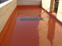 Membrana poliuretanica lichida pentru hidroizolare si protectie - ATK POL - Pelicula hidroizolante