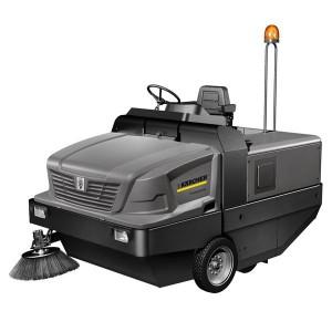Masina de maturat-aspirat cu post de conducere KM 150/500 R D 4W - Masini de maturat/maturat-aspirat