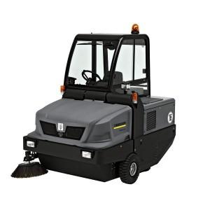 Masina de maturat-aspirat cu post de conducere KM 150-500 R BP - Masini de maturat/maturat-aspirat