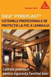 Sika Pyroplast sau cat de eficienta poate fi protectia la foc a elementelor din lemn
