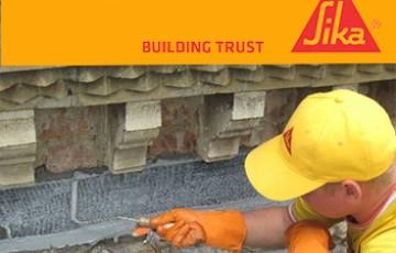 Sisteme SIKA pentru repararea si consolidarea structurala a cladirilor