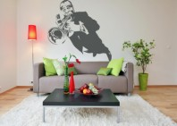 Sticker Louis Armstrong - Beestick