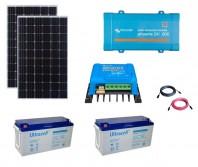 Kit Fotovoltaic Off-Grid 600W cu invertor de 800VA