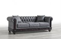 Canapea Manchester gri