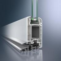 Profil din PVC pentru usi de exterior - Schüco Corona CT 70