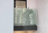 Folie transparenta cu modele decorative albe - IL350/ IL351/ IL352
