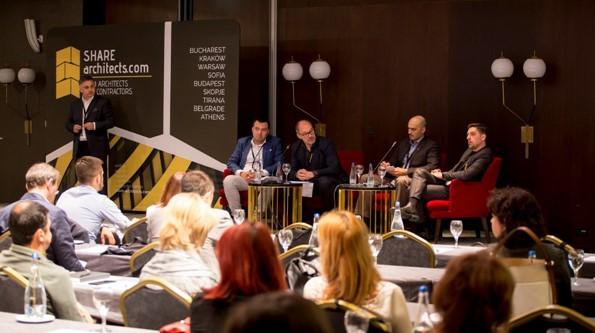 Lansarea Consiliului Consultativ al Arhitecților din Europa Centrală și de Est CCA-CEE în cadrul Share Belgrade
