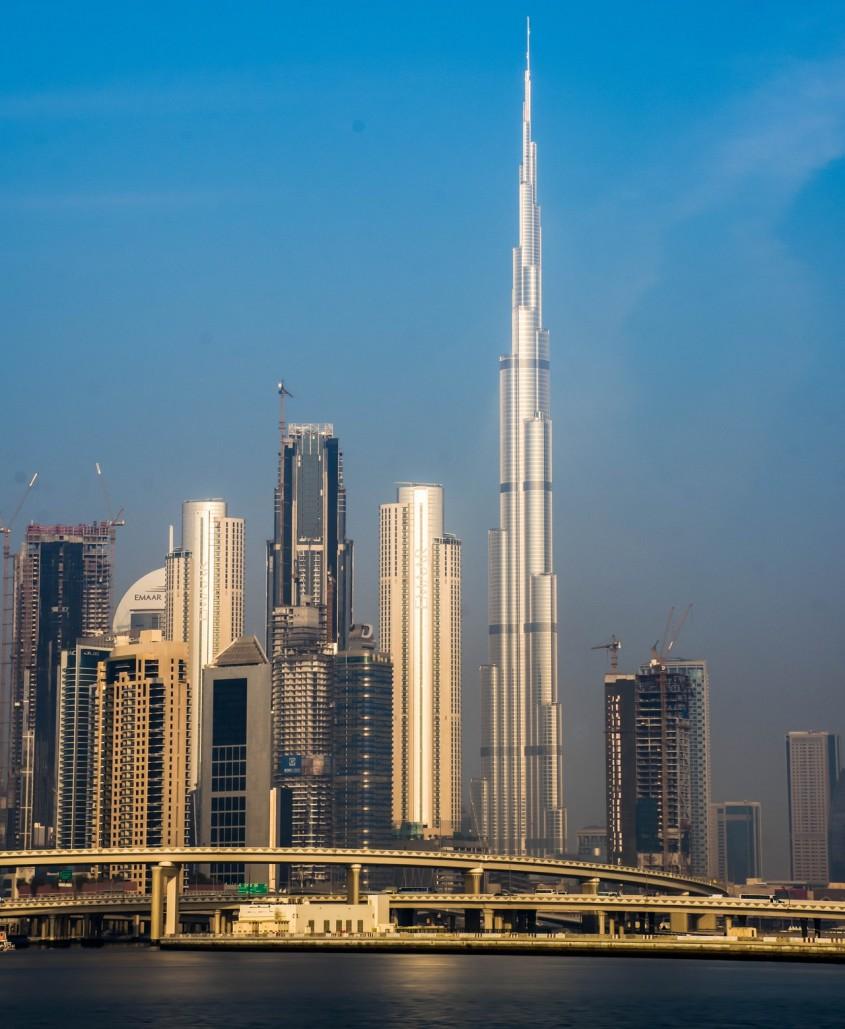 Burj Khalifa, Dubai, 2010