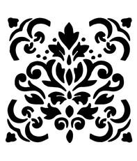 Sablon decorativ Kaya, reutilizabil