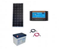 Kit cu panou fotovoltaic de 150W