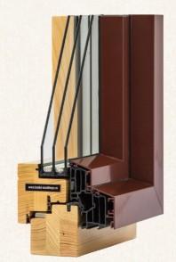 Fereastra din lemn stratificat - profil 70-78-90 mm