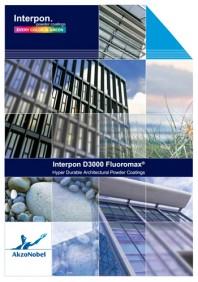Colectia de vopsea pulbere Interpon D3000 - Fluoromax