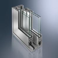 Profil din aluminiu neizolat pentru usi glisante cu ridicare - Schüco ASS 50.NI
