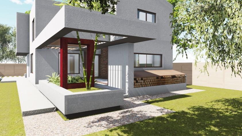 Vila unifamiliala Sp+P+E - Bragadiru 18.06  Bragadiru AsiCarhitectura