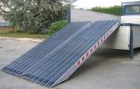 Rampa de incarcare din aluminiu cu invelis cauciucat - Metalmec M120S