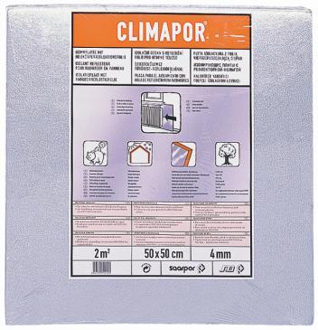 Placi izolante EPS cu folie din aluminium 4 mm