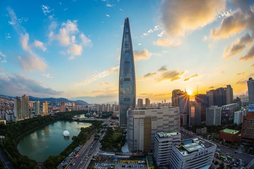 Lotte World Tower, Seul, 2017