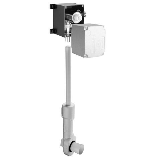 Robinet de spalare WC SCHELL COMPACT II cu montaj in perete