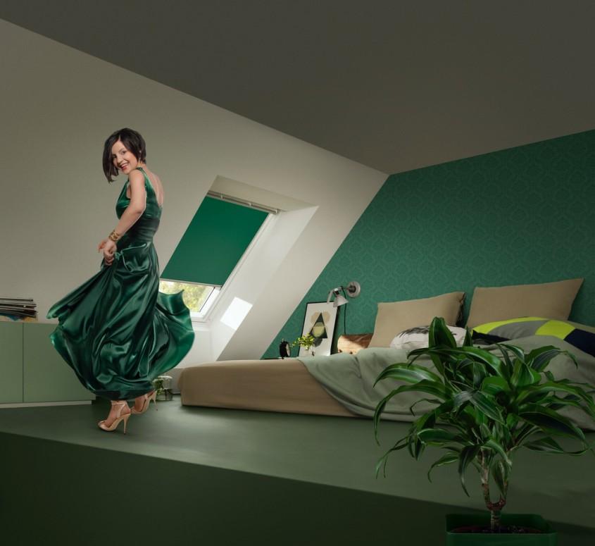 """Noua colecție de rulouri opace VELUX """"Colour by You"""" - o nuanță pentru fiecare stil"""