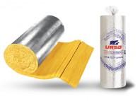 URSA TECH Lamella - Saltele din vată de sticlă pentru izolarea profesională a instalațiilor de orice