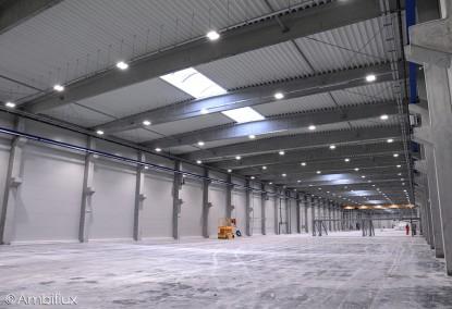 Iluminat interior hala de productie  Palota, Bihor ELECTRONIC INTERACTIV
