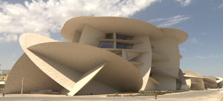 Muzeul National din Qatar de Jean Nouvel (Doha, Qatar, 2019)