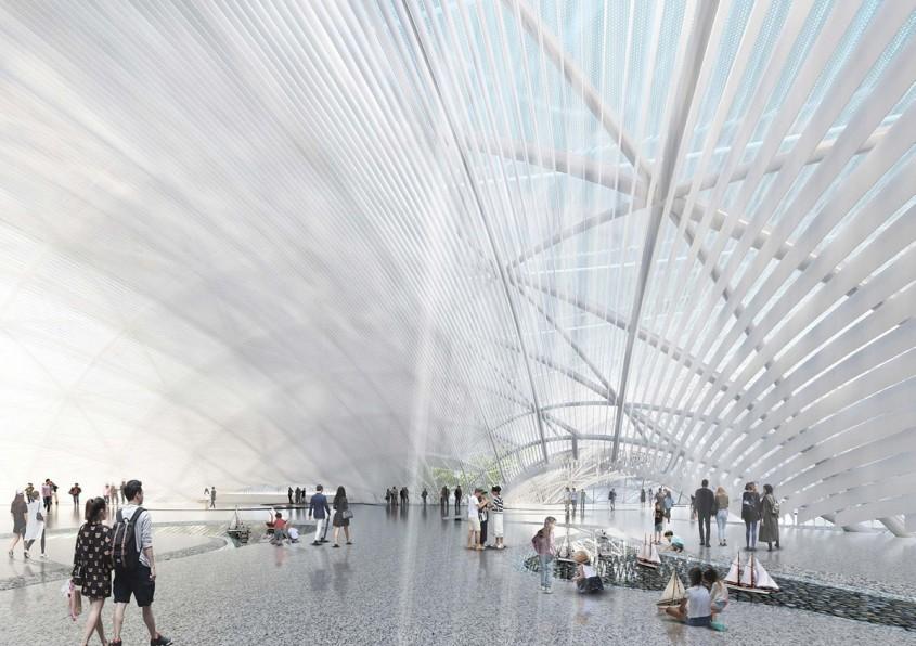 """""""Nori pe apă"""" vor forma viitorul Muzeu Maritim din Shenzhen"""
