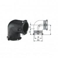 Cot electrofuziune SDR 11 90°