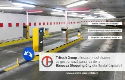 Prezentare a sistemului de parcare cu plata Equinsa  Bucuresti TRITECH GROUP