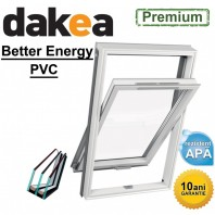Fereastra mansarda + rama - Dakea Better Energy PVC