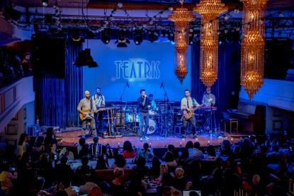 Scena Restaurantului Teatris  Galati PETEA Sound