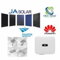 Kit fotovoltaic prosumator on grid 5,2 kWp Ja Solar Trifazat