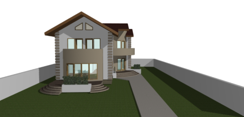 Proiect de casa P+1E - 200 mp ArhiProPub