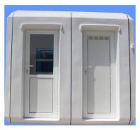 Cabina 1527 cu birou si toaleta individuala - New Design Composite