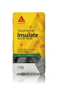 SIKAHOME® INSULATE POLYSTYRENE - Adeziv pentru termosistem cu polistiren, pentru suprafete fine, fara fisuri.