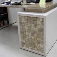 Mozaic Marmura Light Emperador Polisata 4.8 x 4.8 cm MPN-2025