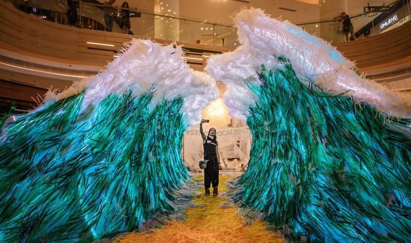 Semnificația sumbră din spatele acestei spectaculoase instalații de artă