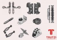 Elemente functionale pentru porti TRUTZI